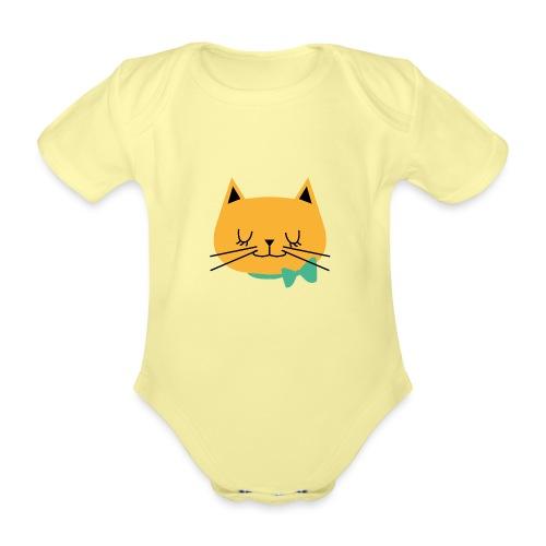 cat - Body Bébé bio manches courtes