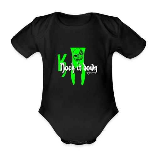 Nock it down - Baby Bio-Kurzarm-Body