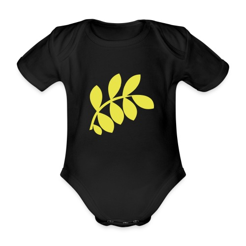 International Peace Bureau IPB Logo variant 1 - Organic Short-sleeved Baby Bodysuit