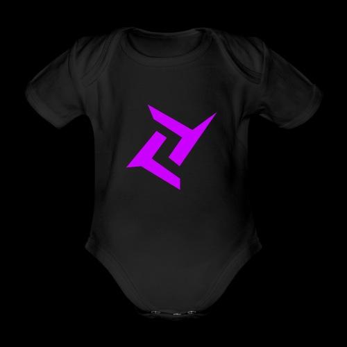 New logo png - Baby bio-rompertje met korte mouwen