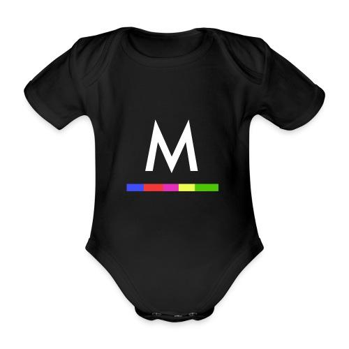 Metro - Body orgánico de maga corta para bebé