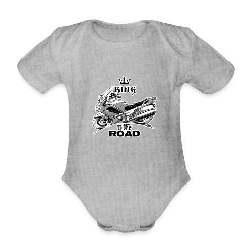 0883 FJR KING of the ROAD - Baby bio-rompertje met korte mouwen