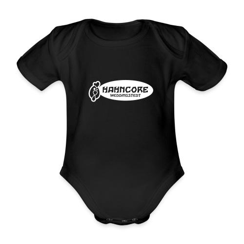 hahncore_sw_nur - Baby Bio-Kurzarm-Body