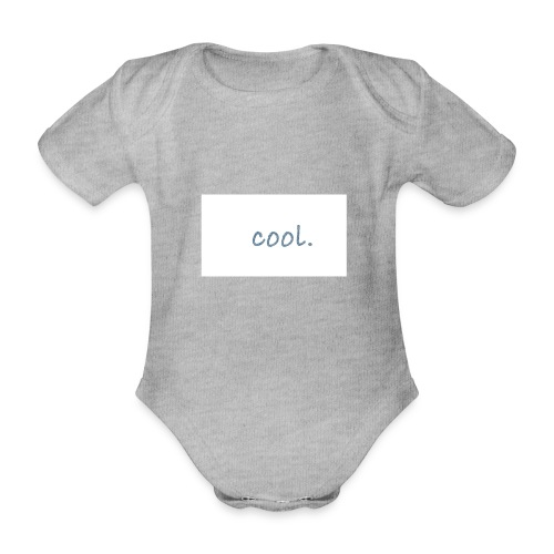 cool - Baby Bio-Kurzarm-Body