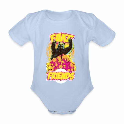 Fake Friends - Baby Bio-Kurzarm-Body