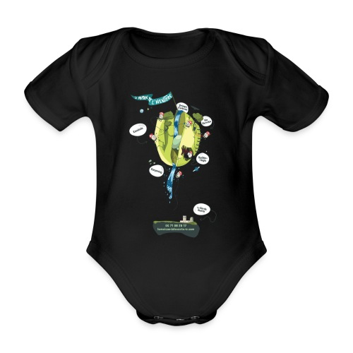 T-shirt Maison de L'aventure - Body Bébé bio manches courtes