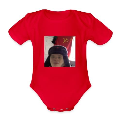 Kommunisti Saska - Vauvan lyhythihainen luomu-body