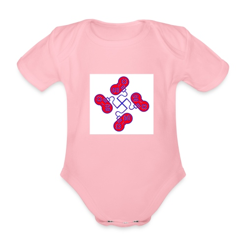 unkeon dunkeon - Vauvan lyhythihainen luomu-body