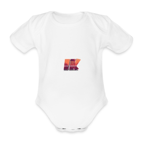 Ishaan Kulkarni Logo (1) - Organic Short-sleeved Baby Bodysuit