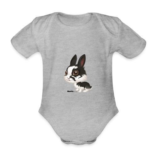 Kanin - Økologisk kortermet baby-body