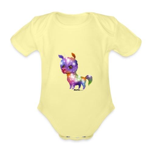 Llamacorn - Baby bio-rompertje met korte mouwen