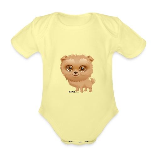 Dog - Baby bio-rompertje met korte mouwen