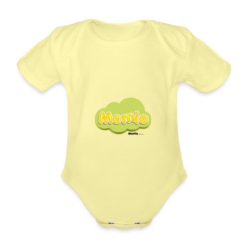 Logo van Momio - Baby bio-rompertje met korte mouwen