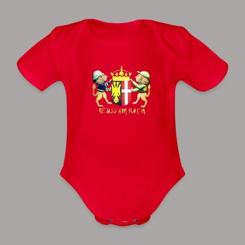 Neuss am Rhein - Baby Bio-Kurzarm-Body