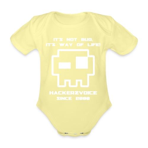 hzv visu bug - Organic Short-sleeved Baby Bodysuit