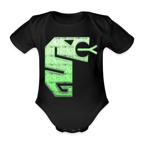 Snake totem - Ekologisk kortärmad babybody