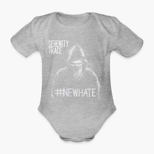 #NewHate Male - Økologisk kortermet baby-body