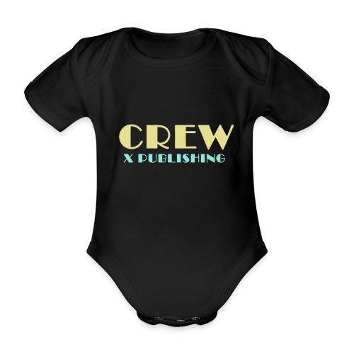 Crew X Publishing - Ekologisk kortärmad babybody