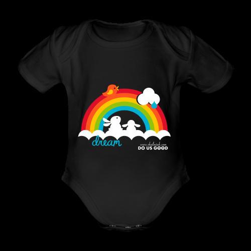 DREAM - Vauvan lyhythihainen luomu-body