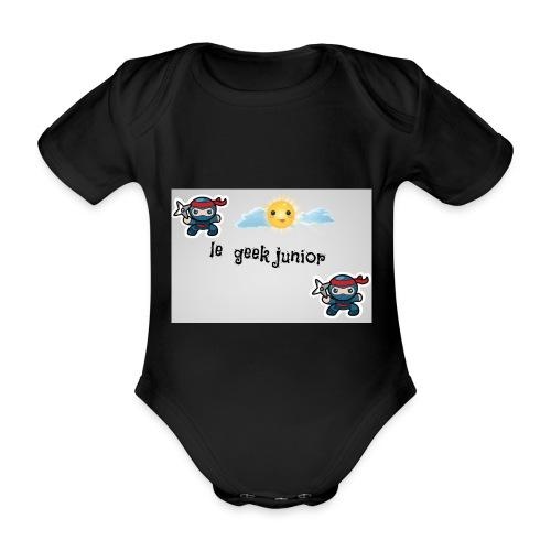 modele enfant - Body Bébé bio manches courtes