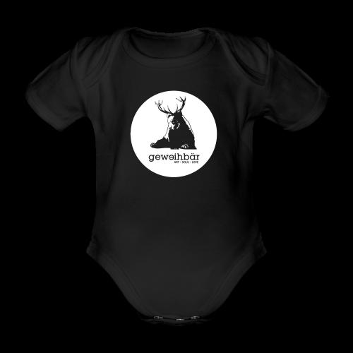 geweihbär - Baby Bio-Kurzarm-Body