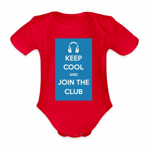 Join the club - Organic Short-sleeved Baby Bodysuit