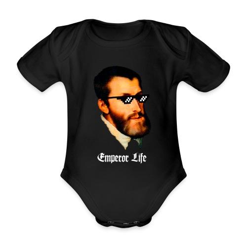 Carlos I y V de Alemania (Emperor Life) - Body orgánico de maga corta para bebé