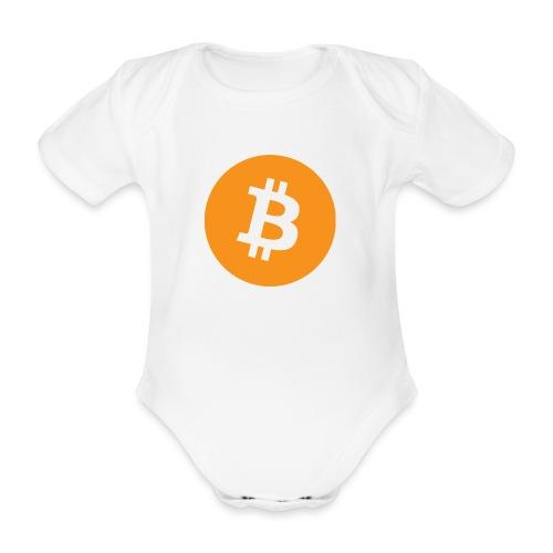 Bitcoin - Organic Short-sleeved Baby Bodysuit