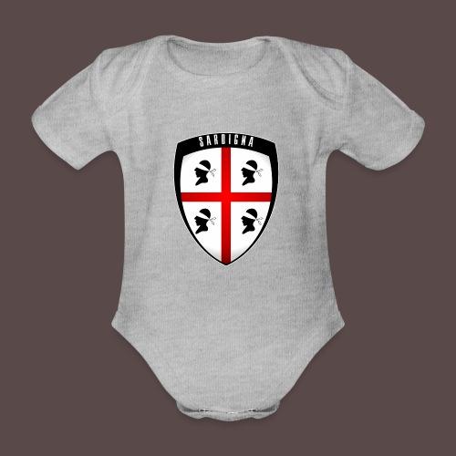 Sardegna Stemma - Body ecologico per neonato a manica corta
