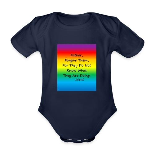 Forgive - Organic Short-sleeved Baby Bodysuit