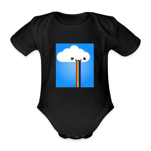 rainbow - Baby Bio-Kurzarm-Body