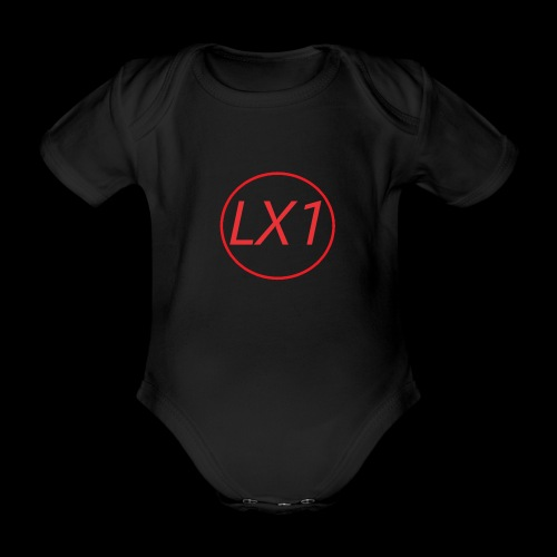 WilleLX1 Logo - Ekologisk kortärmad babybody