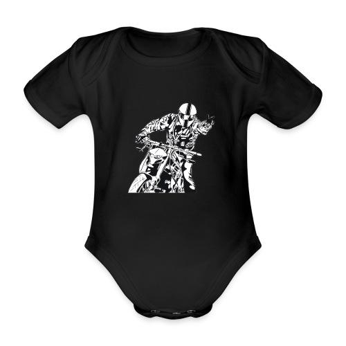 Streetfighter - Baby Bio-Kurzarm-Body