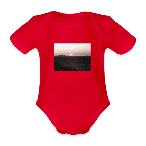 Alba - Body ecologico per neonato a manica corta