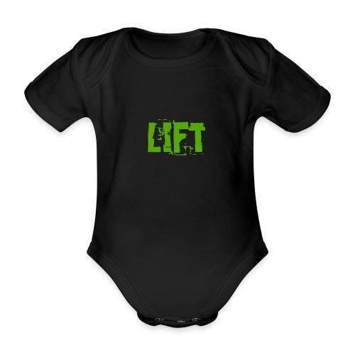 lift - Body ecologico per neonato a manica corta
