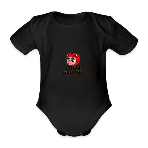 CnWh Globby Merch - Ekologisk kortärmad babybody