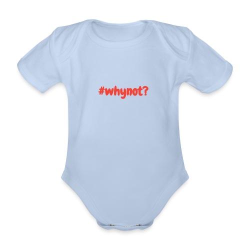 whynot - Vauvan lyhythihainen luomu-body