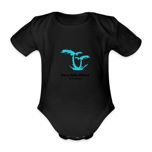 LOGO PARCO DELLE VILLETTE - Body ecologico per neonato a manica corta