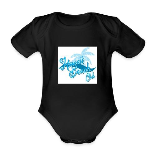 Hawaii Beach Club - Organic Short-sleeved Baby Bodysuit