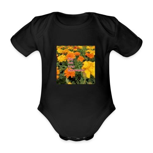 Säg att du älskar mig - Ekologisk kortärmad babybody