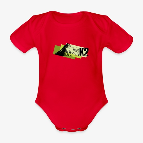 K2 - Organic Short-sleeved Baby Bodysuit