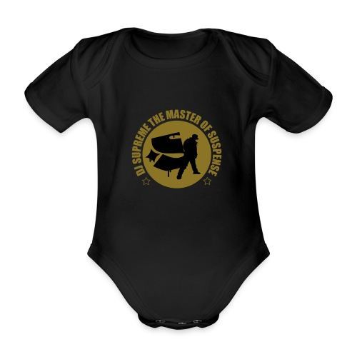 Master of Suspense T - Organic Short-sleeved Baby Bodysuit