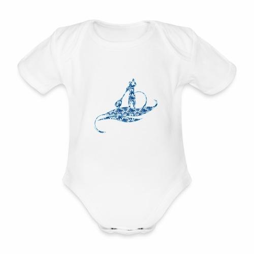 Blue Ocean - Body Bébé bio manches courtes