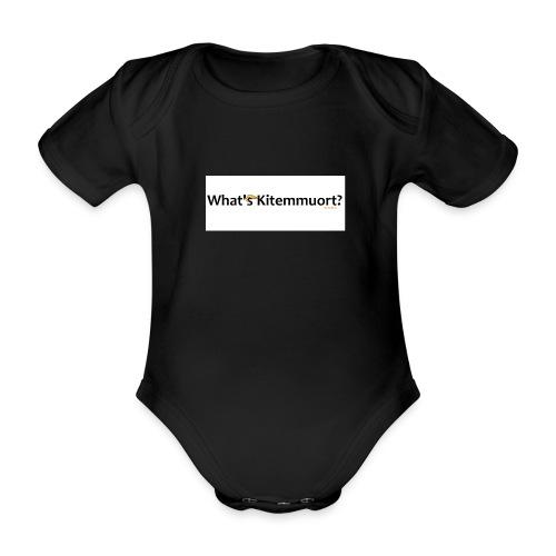 What'S Kitemmuort Trump - Body ecologico per neonato a manica corta