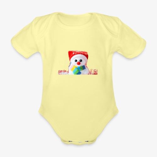 balwanek - Ekologiczne body niemowlęce z krótkim rękawem