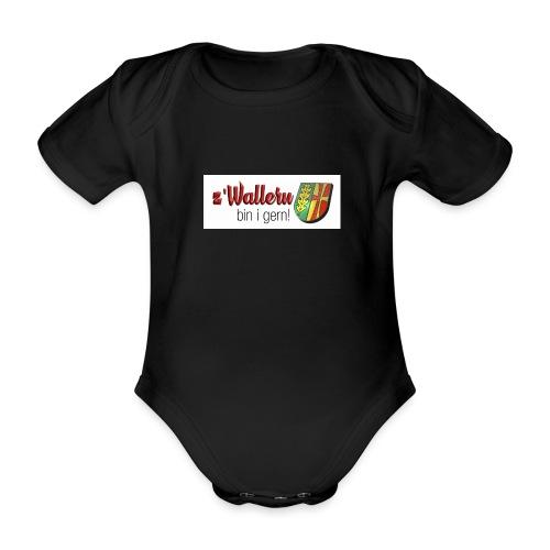 z'Wallern - Baby Bio-Kurzarm-Body