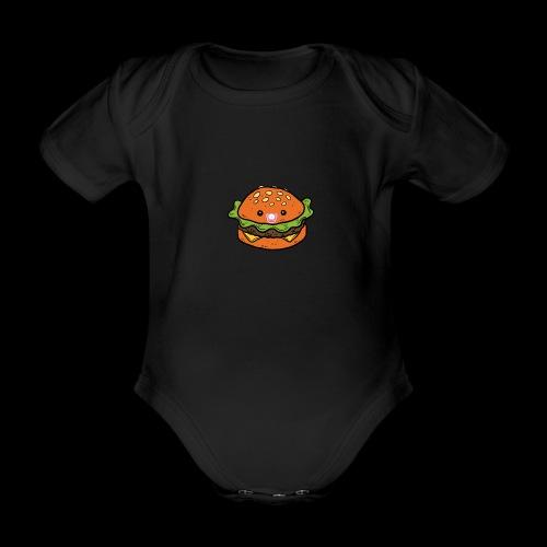 Star Burger Baby - Baby bio-rompertje met korte mouwen