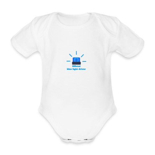 Blue light driver - Baby Bio-Kurzarm-Body
