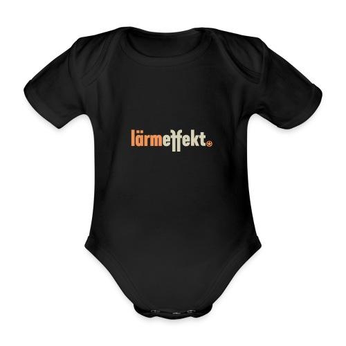 lärmeffekt Schriftzug normal - Baby Bio-Kurzarm-Body