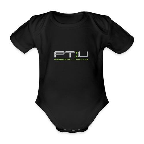 PT:U Original logo Tee - Organic Short-sleeved Baby Bodysuit